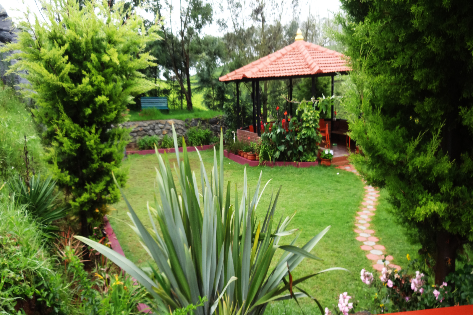 Gazebo green nest resort ooty